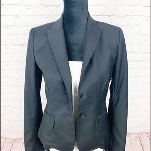 J Crew Super 120s Wool 2 Button Blazer